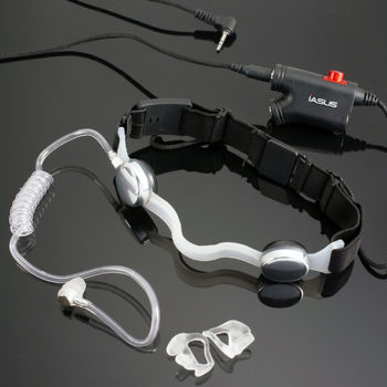 NT3 Throat Mic Headset
