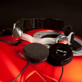 GP3 Throat Mic Headset
