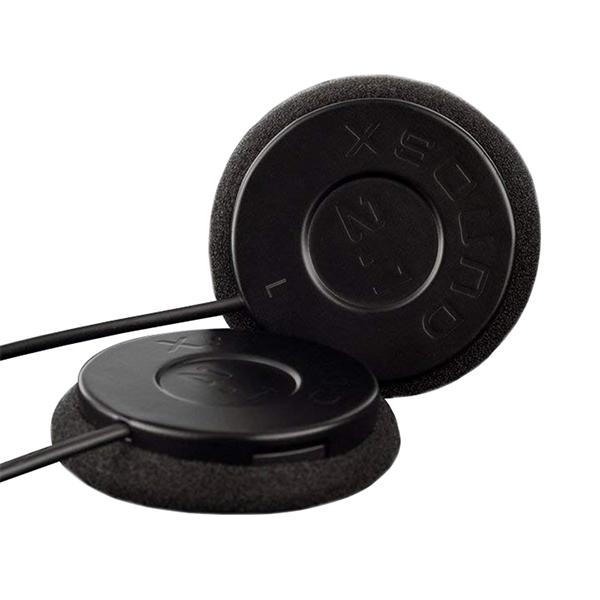 stainless steel helmet speaker