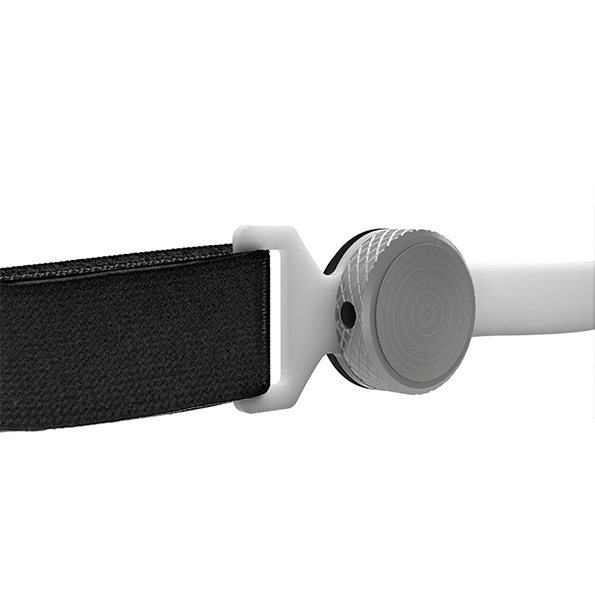 throat mic with 3.5mm audio output jack