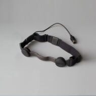 GP3-R Throat Mic Headset (black)
