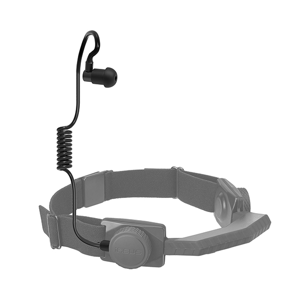 wireless throat mic acoustic coil