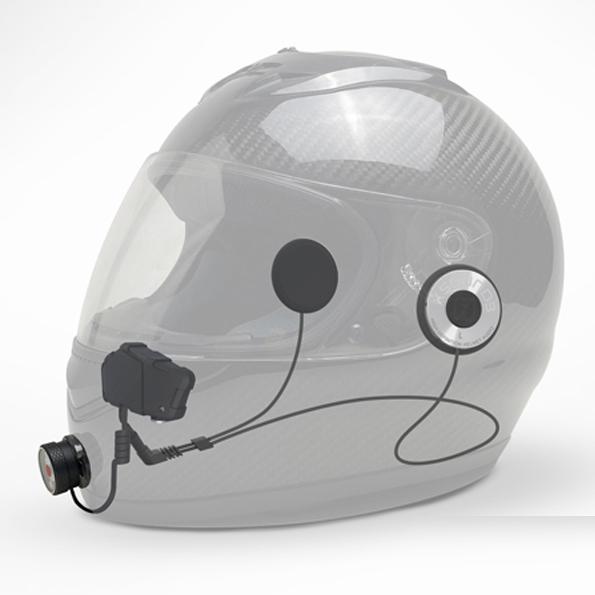 helmet comm set up