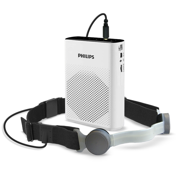 throat mic and speaker kit
