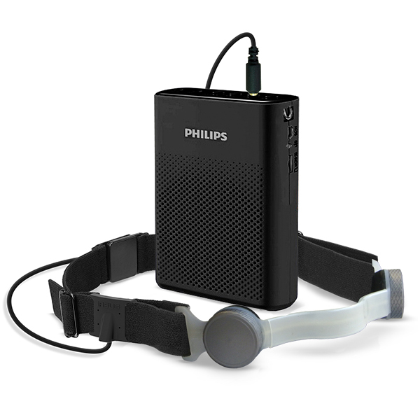throat mic headset and amplifier kit