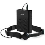 throat mic and speaker kit black