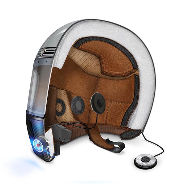 motorcycle helmet audio comm system