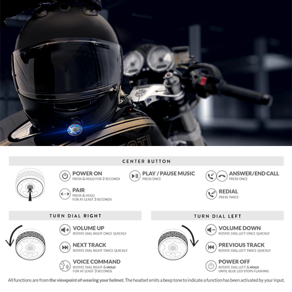 helmet comm instructions
