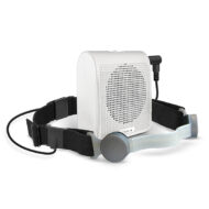 Pre-Order TEN-4 Throat Mic & Speaker Amplifier Kit (white)