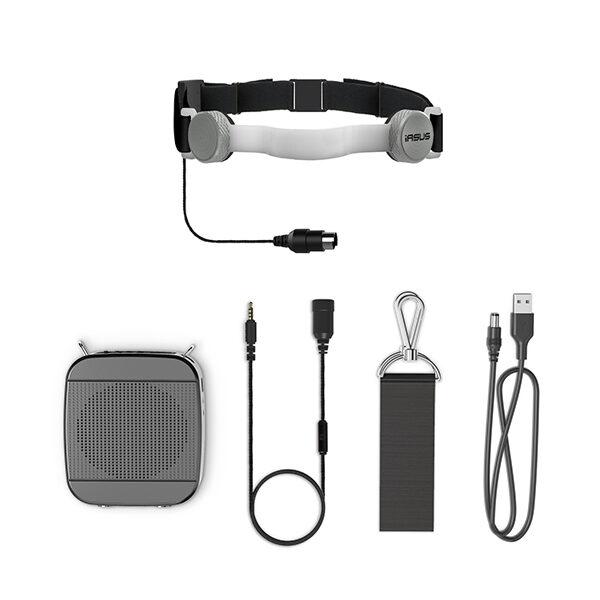 throat mic and speaker amplifier kit