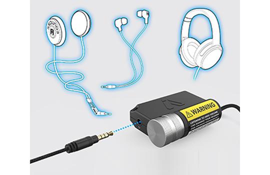 music amplifier boost 3.5mm plug